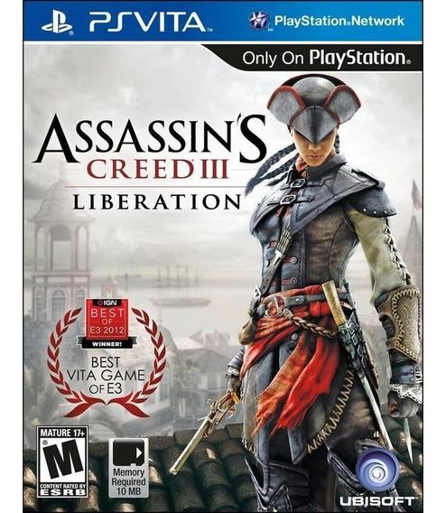 Jogo Psvita Assassins Creed Iii 3 Liberation Ps Vita Lacrado