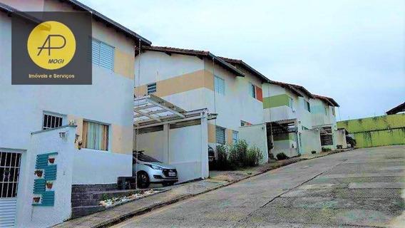 Sobrado Com 2 Dormitórios À Venda, 68 M² - Mogi Moderno - Mogi Das Cruzes/sp - So0129