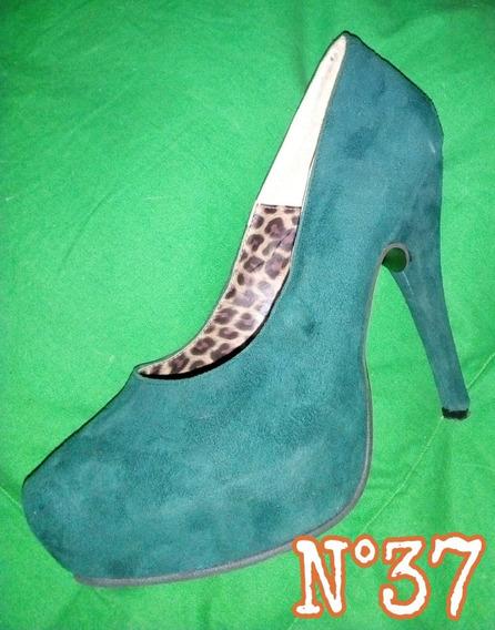 Zapatos Verde