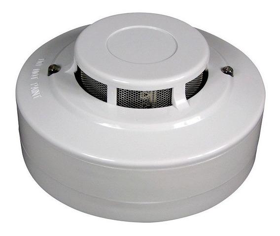 Detector Sensor De Humo Alarma Domiciliaria 4 Hilos Infinity