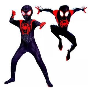 Miles Morales Difraces Infantil Spiderman Super Heroes
