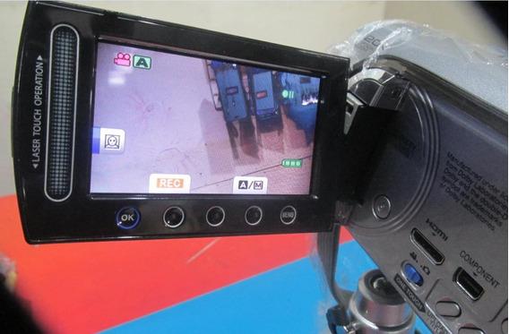 Filmadora Victor Hd Gz-hd260-s Com Acessórios Made Japão