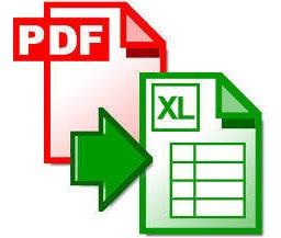 Faço A Conversão Do Seu Arquivo De Pdf Para Excel.