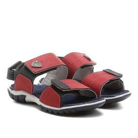 3ea77a2134 Chinelo Infantil Klin - Sapatos Vermelho no Mercado Livre Brasil