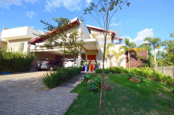 Casa Com 3 Dormitórios À Venda, 289 M² Por R$ 1.380.000,00 - Condomínio Metropolitan Park - Paulínia/sp - Ca2033