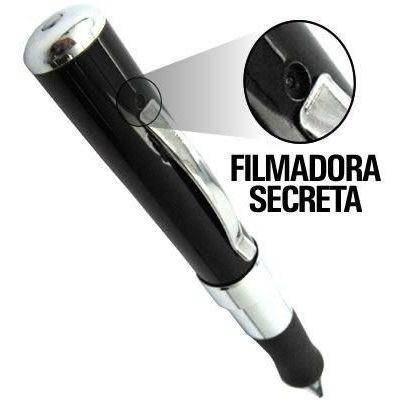 Caneta De Espionagem Secreta Full Hd 4gb Caneta Espiã Câmera