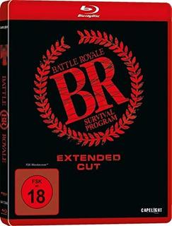 Pelicula Battle Royale Extended Cut & Kinofassung Batalla Ro