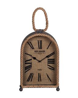 Reloj De Mesa Dakota Ovalado Con Cuerda