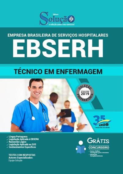 Apostila Ebserh - 2019 - Técnico Em Enfermagem