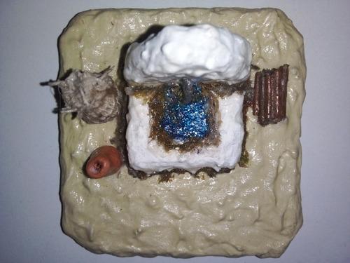 Réplica En Miniatura Artesanal De Pila