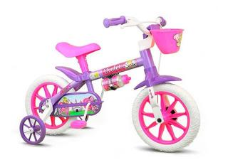 Bicicleta Infantil Violet Aro 12 - Nathor