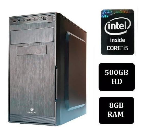 Computador Intel I5 8gb Memória Hd De 500gb Office E Leitor