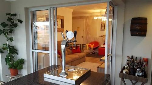 Apartamento À Venda, 100 M² Por R$ 900.000,00 - Chácara Santo Antônio (zona Sul) - São Paulo/sp - Ap42197