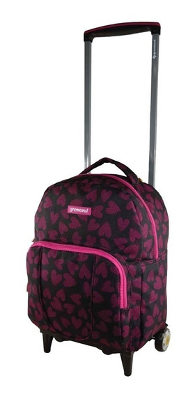Mochila Carro Gremond Kids 23 Lts. - Radares / Animal Print