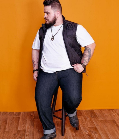 Calça Jeans Bivik Masculina Tamanhos Grandes Plus Size