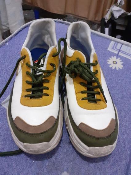Zapatillas Fila Talle 37 Usadas