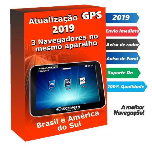 Atualização Gps Foston Apontador Multilaser Com 3 Igo