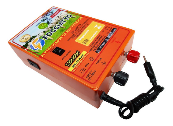 Eletrificador Rural 150 Hectares 117/220v 10 Joules