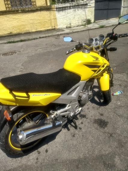 Cbx Twister 250cc Amarela Classica Doc Em Dia Sem Multa