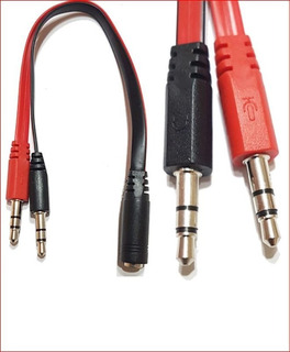 Cable Miniplug Hembra A 2 Miniplug Macho Titan Belgrano