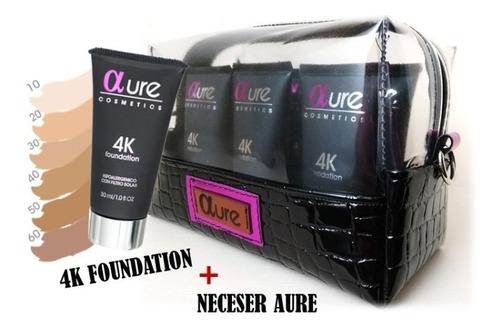 Set De 6 Bases Profesionales + Neceser Aure Cosmetics