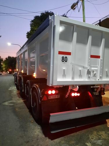 Batea Semirremolque Vuelco Trasero Cormetal 2017