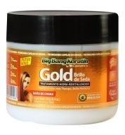 Baño De Crema Keratina Gold Brillo Seda 240gr Bigbangkeratin