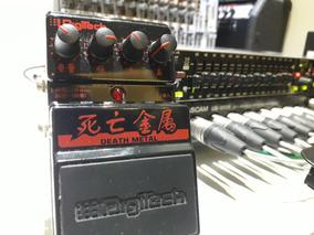 Pedal Digitech Death Metal Distortion Japonês