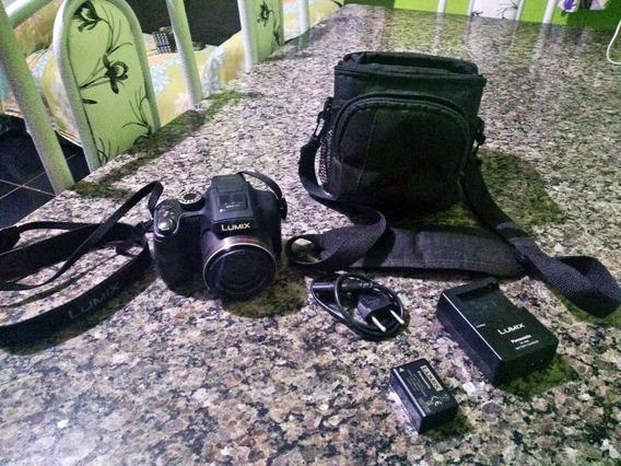 Câmera Filmadora Panasonic Lumix Dmc-fz47 Full Hd - 12.1 Mpx