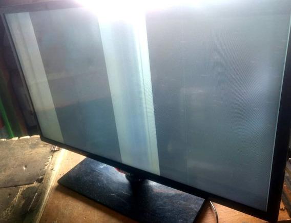 Tv Samsung Un32f5200ag Com Defeito Na Tela