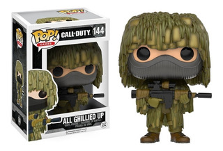 Funko Pop! Games: Call Of Duty - All Ghillied Up #144