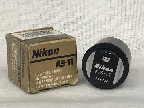 Adaptador De Tripé Para Flash Nikon As-11 Sb-16a Sb-17.