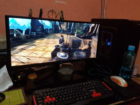 Pc Gamer C Monitor Ultrawide Gtx1060 Asus Strix 6gb Ssd250gb