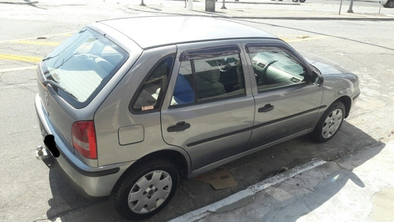 Gol 1.0 16v 4portas Manual Cinza An0 2002 Dh Ve Te Som