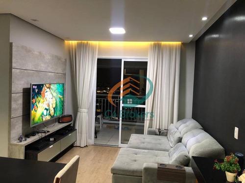 Apartamento Com 2 Dormitórios À Venda, 62 M² Por R$ 500.000,00 - Vila Augusta - Guarulhos/sp - Ap2575
