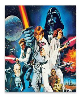 Cuadro De Star Wars Producto Oficial De Lucasfilm The Empire