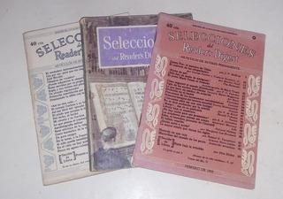 Lote De Tres Revistas Selecciones. Muy Antiguas!!!