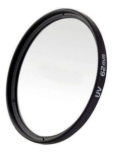 Filtro Uv Ultravioleta Profissional Para Lente Câmera Fotográfica 62mm
