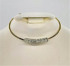 1bbf02173c71 Collar Sencillo Cristales Original Bisutería Moda Importada