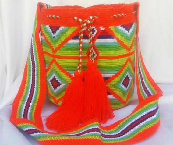Mochila Wayuu O Bolso Susu