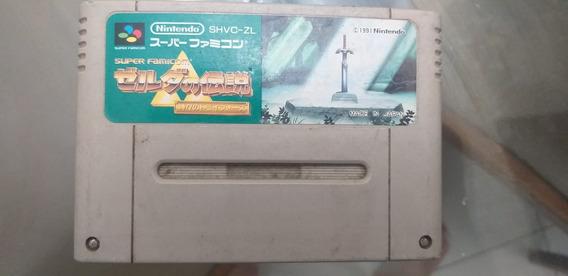 The Legend Of Zelda - Super Famicom - Original Japonês