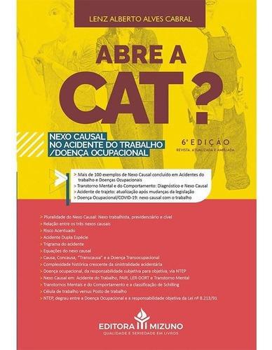 Imagem 1 de 3 de Livro Abre A Cat? - 6ª Edição Inss Mpt Mais De 100 Exemplos