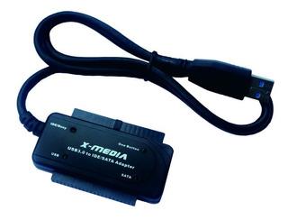 X-media Cable Adaptador Convertidor Usb 3.0 Sata Ide /v