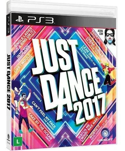 Jogo Just Dance 2017 Ps3 Mídia Física Original Lacrada