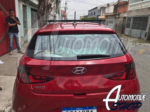 Imagem 1 de 10 de Rack De Teto Novo Hyundai Hb20 Hatch  2020 Em Diante.