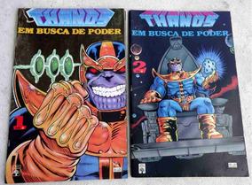 Thanos Em Busca De Poder - Completa Em 2 Edições - 1993