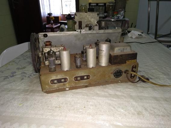 Radio Vitrola De Móvel Abc Izabela- Valvulado ( Chassis )