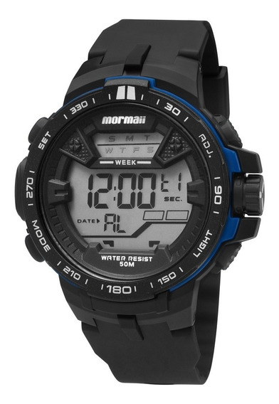 Relógio Mormaii Masculino Digital Mo3390/8a