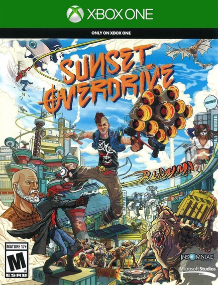 Sunset Overdrive Xbox One - Original (25 Dígitos)