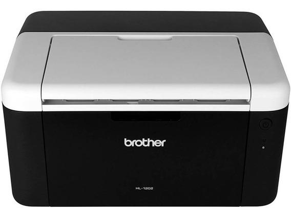 Impresso Laser Brother Hl-1202. Monocromática 110v.